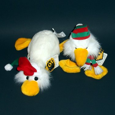 RARE Christmas  PLUSH 1989 ZOE&ZAK THE HERITAGE COLLECTION by Ganz