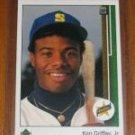 1989 upper deck ken griffey junior rookie card excellent condition