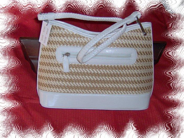 ladies straw handbag