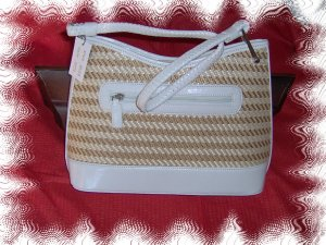 ladies straw handbag