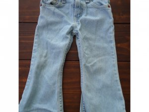 Girls Levis with Adjustable Waist