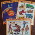 3 Pack 25 Piece Puzzles- Sports, Trucks, Astronomy
