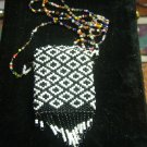 beaded medicine pouch