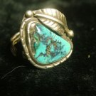 very large and unusual navajo ring for repair
