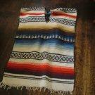 Two piece mexican textile decore
