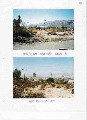 29 Palms - Sunset Dr btwn Persia & Sherman Hoyt