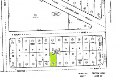� $0 Down 0.18 Ac Lot Sullivan Rd 29 Palms