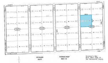 2.12 Acres Amador Ave, 29 Palms
