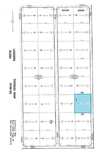 $0 Down Beautiful 2.24 Acre Parcel, Kuna Avenue, Landers (near Napa Road)