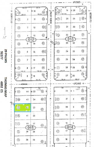 Commercial / Residential Btwn 6401/6425 Ocotillo 29 Palms (Between 6401 and 6425 Ocotillo)