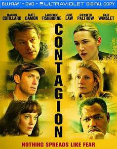 Contagion (Blu-ray/DVD, 2012, 2-Disc Set, Includes Digital Copy)