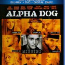 Alpha Dog (Blu-ray/DVD, 2011, 2-Disc Set)