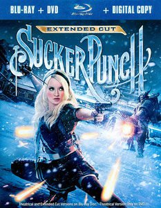 Sucker Punch (Blu-ray/DVD, 2011, 3-Disc Set, Extended Cut; Includes Digital...