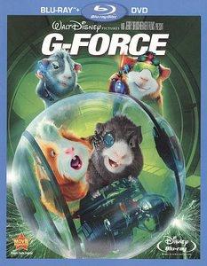G-Force (Blu-ray/DVD, 2010, 2-Disc Set)