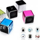 Music angel Speakers, mini speaker, portable speakers for TF card w/FM, MD07