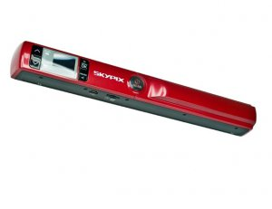 Skypix TSN440 Portable Scanner A4 LCD Screen Scanner 900DPI Scan to PDF with Preview Screen TF Card
