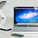 Foldable Folding Table Night Reading Light 24 LED Desk Lamp