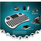 Free Shipping 2.4G Mini wireless keyboard UKB-500-RF with TouchPad