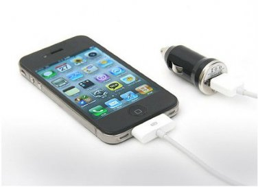 Colorful Mini Bullet Colorful Car Charger Adapter for iPhone5