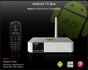 Measy A5A Android 4.0 HD Media Player internal 802.11n WIFI Allwinner A10 Word/Excel/PPT file