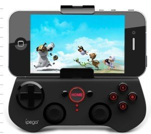 Wireless Bluetooth Game Controller  Joystick For Iphone 4/4S/5 Ipad Support  Android/ iOS Phone
