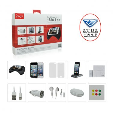 Best value Protective Accessories 18 in 1 Kit  For Apple iPhone 5