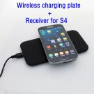 QI Standard 5V USB Port Wireless Charger with wireless charging Receiver for SAMSUNG  GALAXY S4