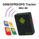Mini Global Real Time GPS Tracker A8 GSM/GPRS/GPS Tracking Locater Device