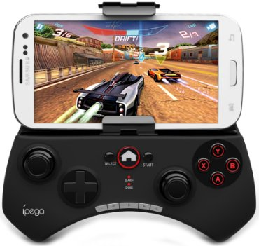 Multi-Media Bluetooth Game Controller Gamepad  For iPhone/iPad, Android/iOS Smart Phone,Table PC
