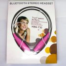 Wireless Bluetooth Stereo Headset HBS-700 Portable sport Earphone With Call Vibration+Connect