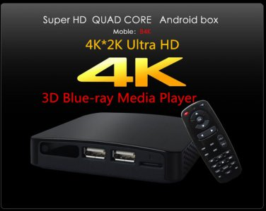 Measy B4K Quad Core Android 4.2 TV Box Mini PC 3D Blue-ray HDMI Media Player 4K*2K Ultra HD