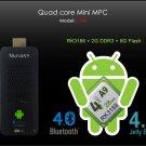 Measy U4B Quad Core Android TV Box/Mini PC 2GB+8GB Support Bluetooth4.0 Mdia Player