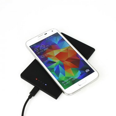 Qi Standard Wireless charging Pad With Wireless charging receiver for SAMSUNG Galaxy S5