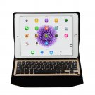 "Wireless Bluetooth Keyboard Slim Thin Folio Leather Case Flip Cover For iPad Pro 9.7"" Tablet Gold"