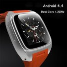 X01  Bluetooth 4.0 Waterproof Wifi GPS SIM Card 3G Smart Phone Watch Heart Rate Wristwatch orange