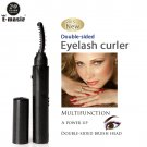 Rapid Roll Become Warped Growth Eyelash Curler Brush Massage Go pouch and black Rim of the Eye