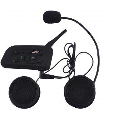 1200M 1 to 5 Riders Skiing Bicycle Motorcycle Helmet Snowmobile Wireless Intercom Interphone Headset