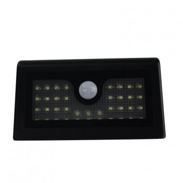 Motion Sensor Light Control OutDoor Street Road Landscape Garden LED Solar Powered Wall Light Lamp
