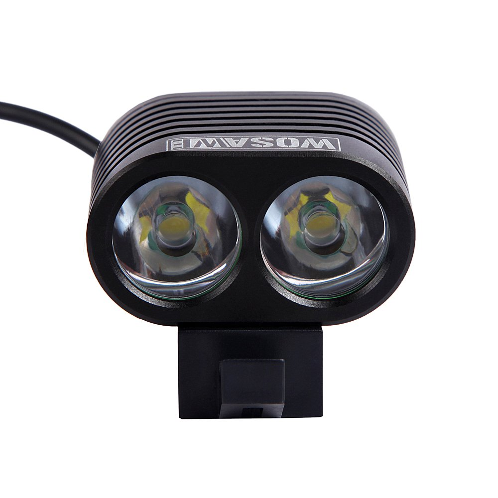 Bike Bicycle Cycling Front Lighting Lights double Lamp bead for Night Riding Camping Climbing sports
