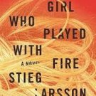 FREE SHIPPING ! The Girl Who Played With Fire by Stieg Larsson (Hardcover-2008)