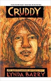 FREE SHIPPING ! Cruddy: An Illustrated Novel by Lynda Barry (Paperback-2005)