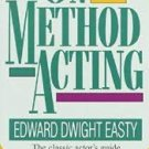FREE SHIPPING ! On Method Acting (Paperback-1992) by Edward Dwight Easty