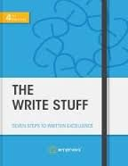 FREE SHIPPING ! The Write Stuff: Seven Steps to Written Excellence 4th Edition