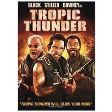 FREE SHIPPING ! Tropic Thunder (DVD) Ben Stiller, Robert Downey, Jr. & Jack Black