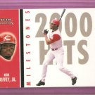 2003 03 Fleer Tradition Milestones Ken Griffey Jr Card #15 of 25 MS  NM/MT