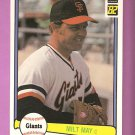 82 Milt May Donruss # 503 1982 Solid NM - MT