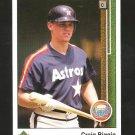 1989 Upper Deck 89 UD Craig Biggio Rookie Card #273 Solid MINT