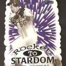 1998 Fleer Ultra Paul Konerko Rocket To Stardom Die Cut Card # 12