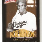 1997 Jackie Robinson Fleer Million Dollar Moments #17