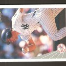 1990 Leaf Jim Leyritz RC Yankees Card #465